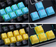 E Element Transparent KeyCaps Personality LOL Mechanical gaming Keyboard PBT Crystal Transparent KeyCap 12 Key  Puller teclado mechanical keyboard sound damper 5 kit rubber mute o ring big and small key cap puller mx axis puller keyboard cleaning brush