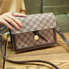 Brand Women Leather Crossbody bag Small Flap Elegant Shoulder Bag New Fashion Female Messenger Bags Girl's Bags miyahouse new fashion leopard small flap bags female clutch bag korean style women chains shoulder bag gitls messenger bags