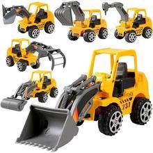 Детские игрушки, 1 шт., детский мини-экскаватор, модель автомобиля, игрушки, инженерный автомобиль, модель автомобиля, экскаватор, развивающая игрушка для мальчиков, подарок для мальчиков