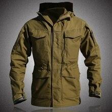 Jacket M65 Military Tactical Waterproof Coat Autumn Winter Hoodie Flight Windbreaker