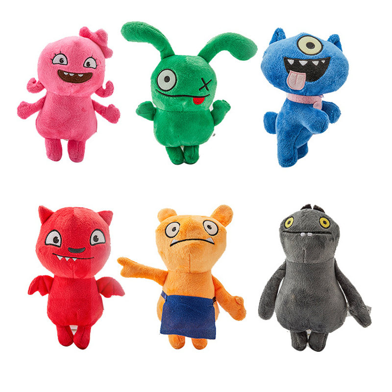 6 Styles 18cm Animation Uglydoll Plush Toy Doll Ox Moxy Babo Plush Toy Soft Stuffed Plush Dolls Ugly Gifts For Children Kids