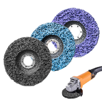 цена на Polishing Strip Disc Abrasive Wheels Paint Rust Remover Clean Grinding Wheels for Motorcycles Durable Angle Grinder Car Truck