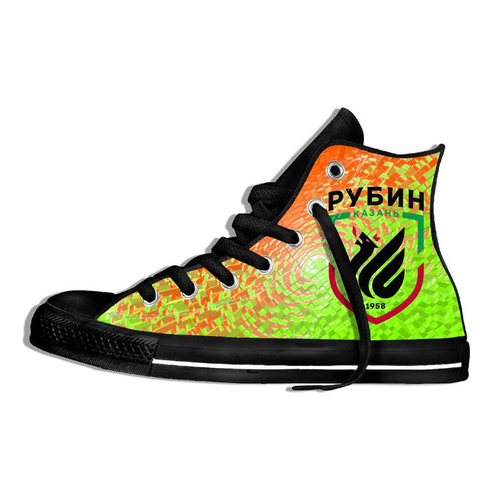 Rusia Rubin Kazan Sepatu Ringan Jogging Sepatu Kasual 3D 2019 Keren Bersol Karet Sepatu Olahraga untuk Pria dan Wanita