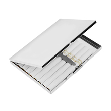 Silver Stainless Steel Extra Slim Cigarette Case/ Box Metal