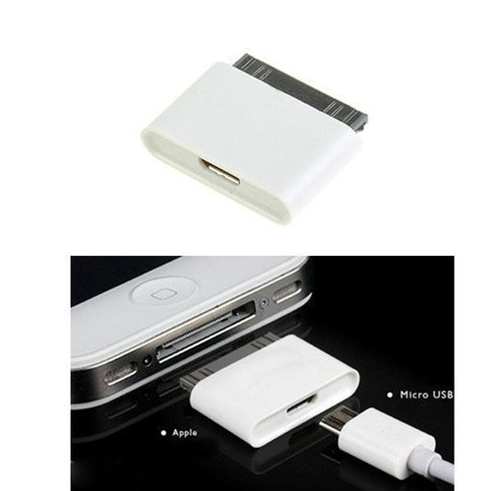 <font><b>Micro</b></font> <font><b>usb</b></font> 30 pin female stecker <font><b>adapter</b></font> für apple <font><b>iphone</b></font> 4 <font><b>4s</b></font> 3gs ipod <font><b>iphone</b></font> 4 <font><b>iphone</b></font> <font><b>4s</b></font> konverter ladekabel image