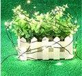 Солнечная приведенная в действие 50/100 светодиодов Медь рождественские строки света мебель ручной работы/наружное художественное оформлени...