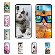For Huawei Honor 10 Lite Case Soft TPU Leather HRY-LX1 HRY-LX2 Cover Dog Pattern Capa