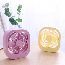 2 Speed Mini Desk USB Fan Portable Quiet Cooling with 360 Rotation Adjustable For Office Car Home Travel Laptop Gadget