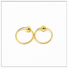 925 sterling silver earring Gold hoop earrings Small Hoop for women Silver Round