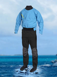 Suit One-Piece Whitewater Kayak Men for Rafting 3-Layer Back-Zip Completely Breathable