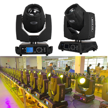 Djworld DJ Lyre 7r 230w Beam Moving Head Light Stage Equipment DMX Light For Dj Disco Party Profession stage Lighti Power In Out