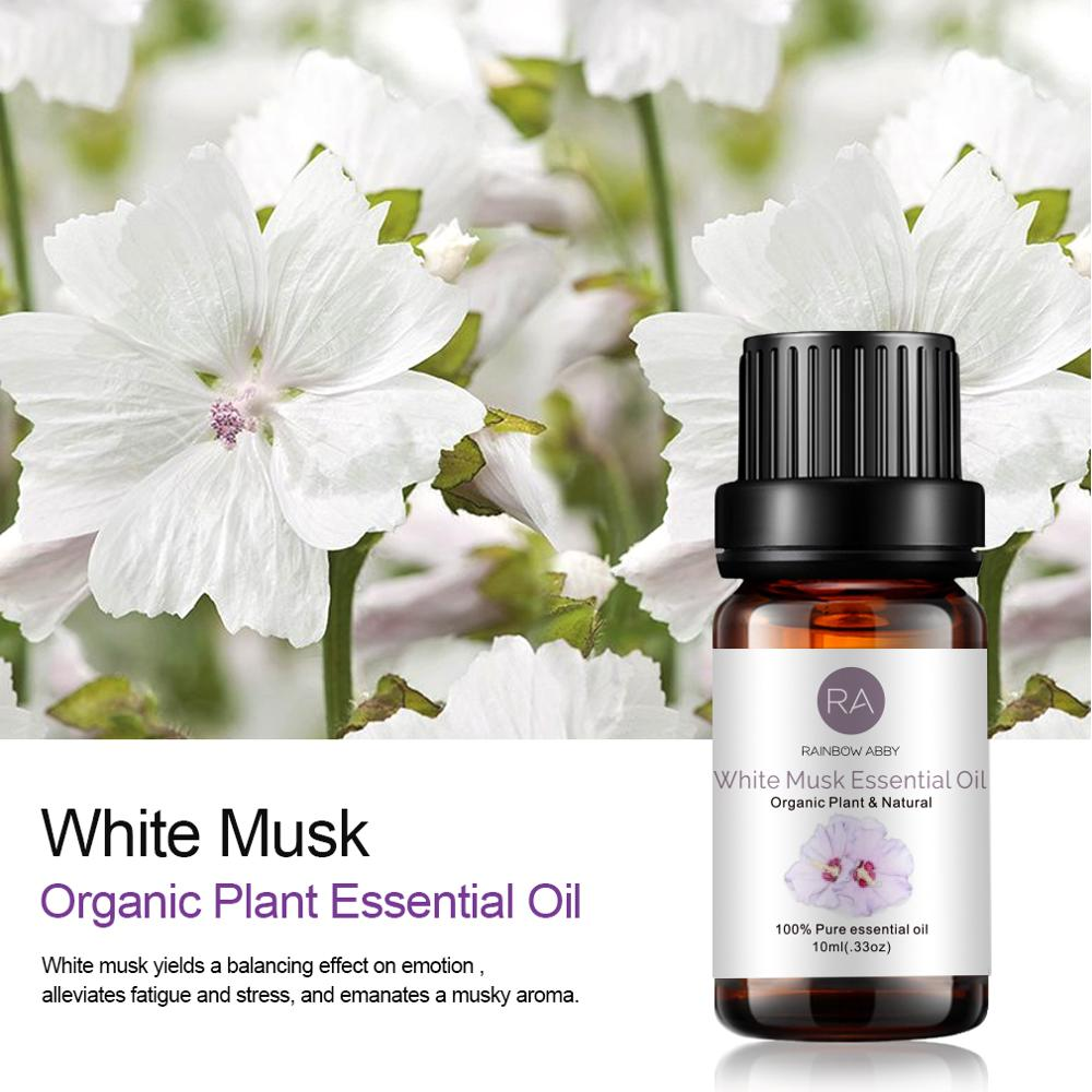 Musk Sandalwood Vanilla Essential Oil Sets Famous Brand For Aromatherapy Massage Spa Bath Skin Face Care