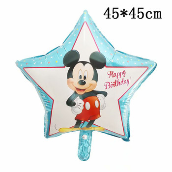 Giant Mickey Minnie Mouse Balloons Disney cartoon Foil Balloon Baby Shower Birthday Party Decorations Kids Classic Toys Gifts 7