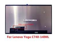 LCD Screen Touch Digitizer Glass Assembly for Lenovo Yoga C740 14IML C740 14 5D10S39587 81TC