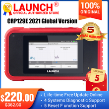 Creader 129E Diagnosis-Scanner Launch X431 Crp 123 Obd 5-Reset with Functions