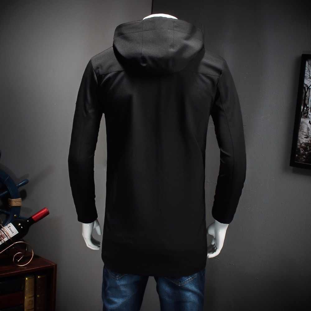 Plus größe 9XL 8XL 7XL 6XL 5XL Neue Ankunft Marke Kleidung Frühling Winter Männer Jacken Casual Zipper Slim Fit Mantel