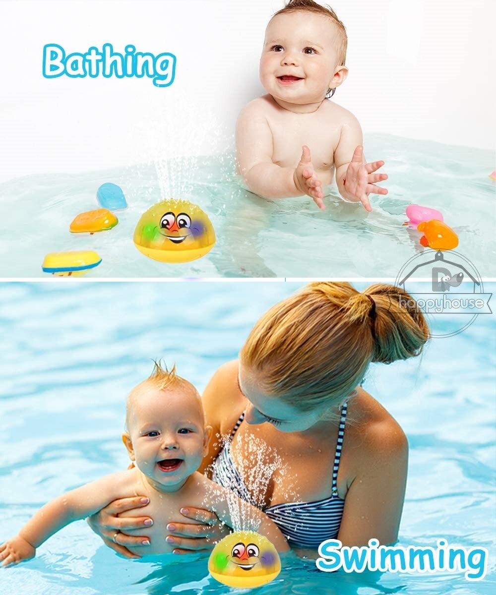 Brinquedos de banho do bebê spray chuveiro
