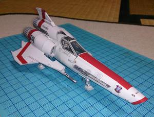 Toy Paper-Model Garage-Kit Battlestar Galactica Vipers Handicraft-Decoration DIY 2-Hao