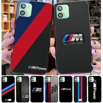 Germany Luxury M BMW Phone Case For iPhone 11 7 Case For iPhone 11 Pro Max X XS XR XS MAX 8 7 6s Plus 5 SE Case image