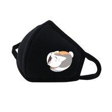anime Natsume Yuujinchou Mouth Face Mask Reusable Respiratory Care mask Dustproof Breathable Protective Cover Masks