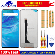 New original Touch Screen LCD Display LCD Screen For Umi Umidigi F2 Replacement Parts + Disassemble Tool+3M Adhesive