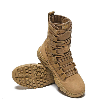 Cool Men Army Boots Hiking Sport Shoes Ankle Men Sneakers Outdoor Boots Men's Military Desert Waterproof Work Safety Shoes 2