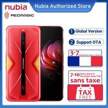 """Versione globale Nubia Redmagic 5G smartphone da gioco 8/12GB 128GB 6.65 """"144HZ Snapdragon 865 NFC 55W telefono cellulare a ricarica rapida"""