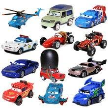 цена на Disney Cars Lightning McQueen Model Toys Pixar Car 3 Car 2 Cars Toy 1:55 Die Cast Metal Alloy Model Toy Car 2 Children's Gifts