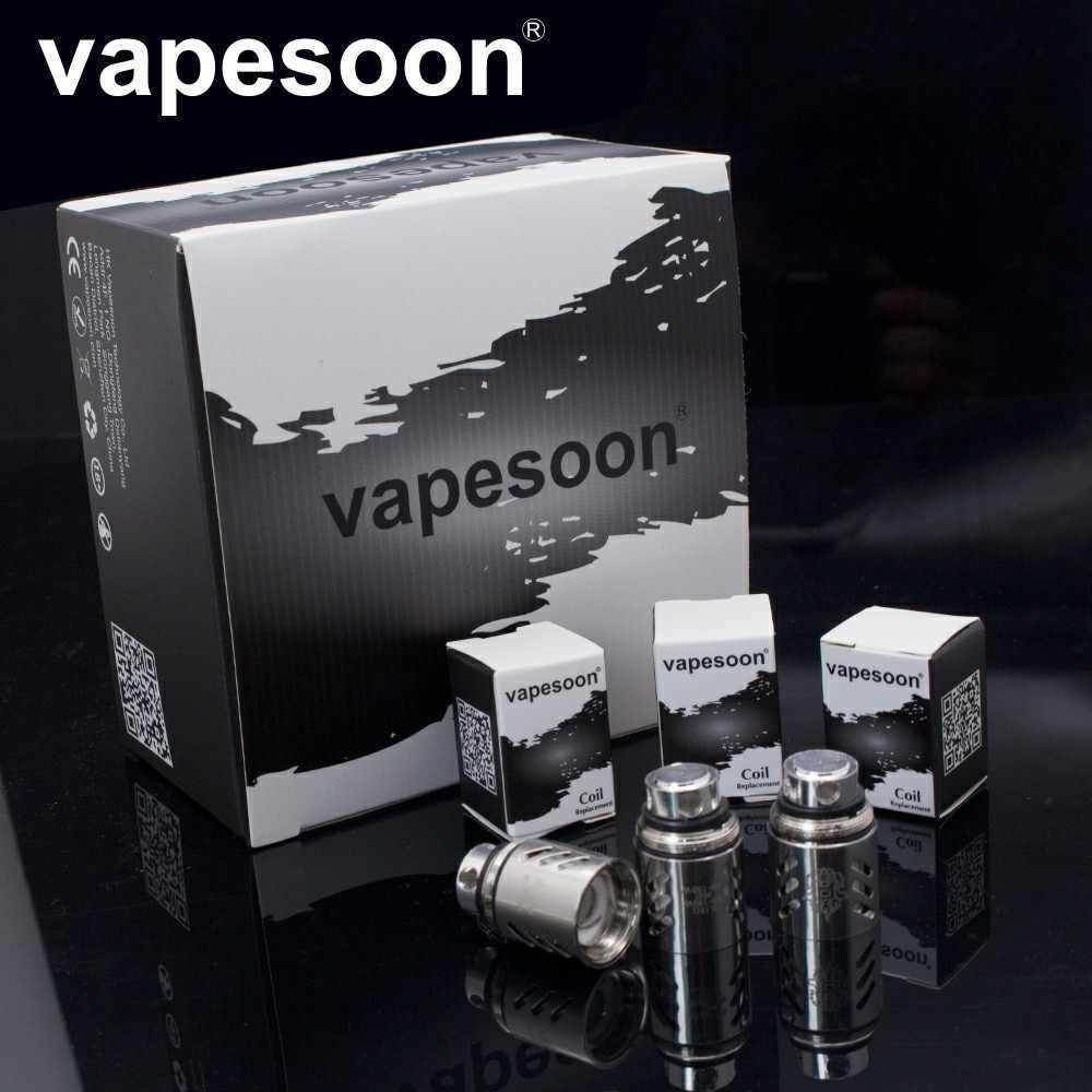 本物 VapeSoon コイルヘッド TFV.88 コイルヘッド V8-T10 V8-T6 V8-Q4 V8-T8 V8 RBA 交換コイル TTFV8.。クラウド獣タンク