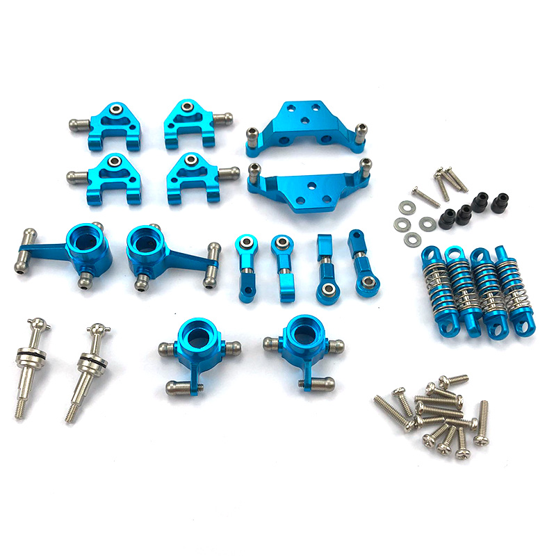 Metal Full Set Upgrade Parts Shock Absorber For Wltoys 1/28 K969 P929 P939 K979 K989 K999 Rc Car Parts