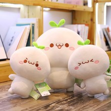 25-50cm Creative Kawah Plush Toy Soft Fill Cute Emoji Animal Doll Child Pillow Girl Valentines Day Gift WJ141