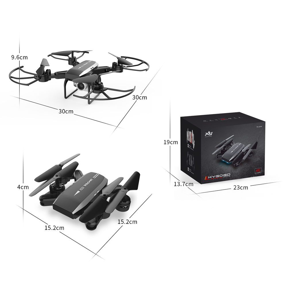 Image 5 - KY606D Drone 4k HD Aerial Photography 1080p Four axis aircraft 20 Minutes Flight air Pressure Hover a key take off Rc helicopter-in RC Helicopters from Toys & Hobbies