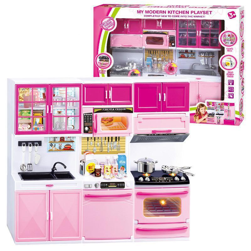 Wooden Kitchen Toys Plastic Cooking Food House Cooking Toys Kitchen Toys Mini Cooker Diy Doll Food Kitchen Pretend Education Set