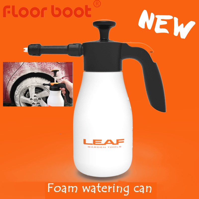 1- 2L car wash sprayer foam spray nozzle auto pressure /foam sprayer auto sprayer plastic for household window foam watering can-1