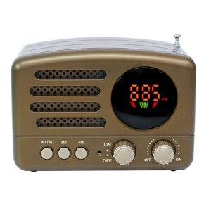 Image 5 - المحمولة بلوتوث راديو FM AM دليل مع هوائي البسيطة USB شحن المحمولة خفيفة الوزن عالية حساسية TF فتحة للبطاقات رئيس
