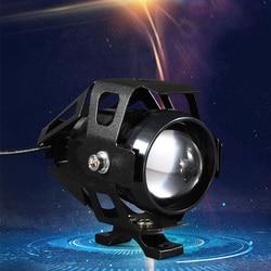 Reflektor motocyklowy LED U5 Farol Moto wodoodporny do kawasaki zephyr 750 vulcan 800 vn900 zzr 600 ninja 400 zx6r 2006 vn 800