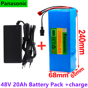 48V 20Ah 1000watt 13S3P 18650 Battery Pack MH1 54.6v E-bike Electric bicycle battery Scooter with 25A discharge BMS with charger(China)