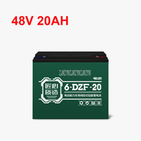 48V 20AH Electric Bike Lead acid Battery Fit 500W Motor Professional Ebike Electric Bicycle Motorcycle Battery|Rechargeable Batteries| |  -