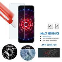 Protecteur d'écran, 2 pièces, Film en verre trempé 2.5D 9H pour ZTE nubia Red Magic 5G 3S 3 Mars