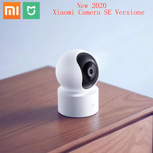 Original Xiaomi Mi Mijia 1080P Smart ip Webcam 360 Degree 2.4G Wi-Fi 10m Infrared Night Vision + NAS Mic Speaker Mi Home Cam