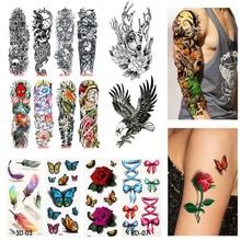 Transfer Tattoo Arm-Sleeve Body-Art Waterproof Women for Large