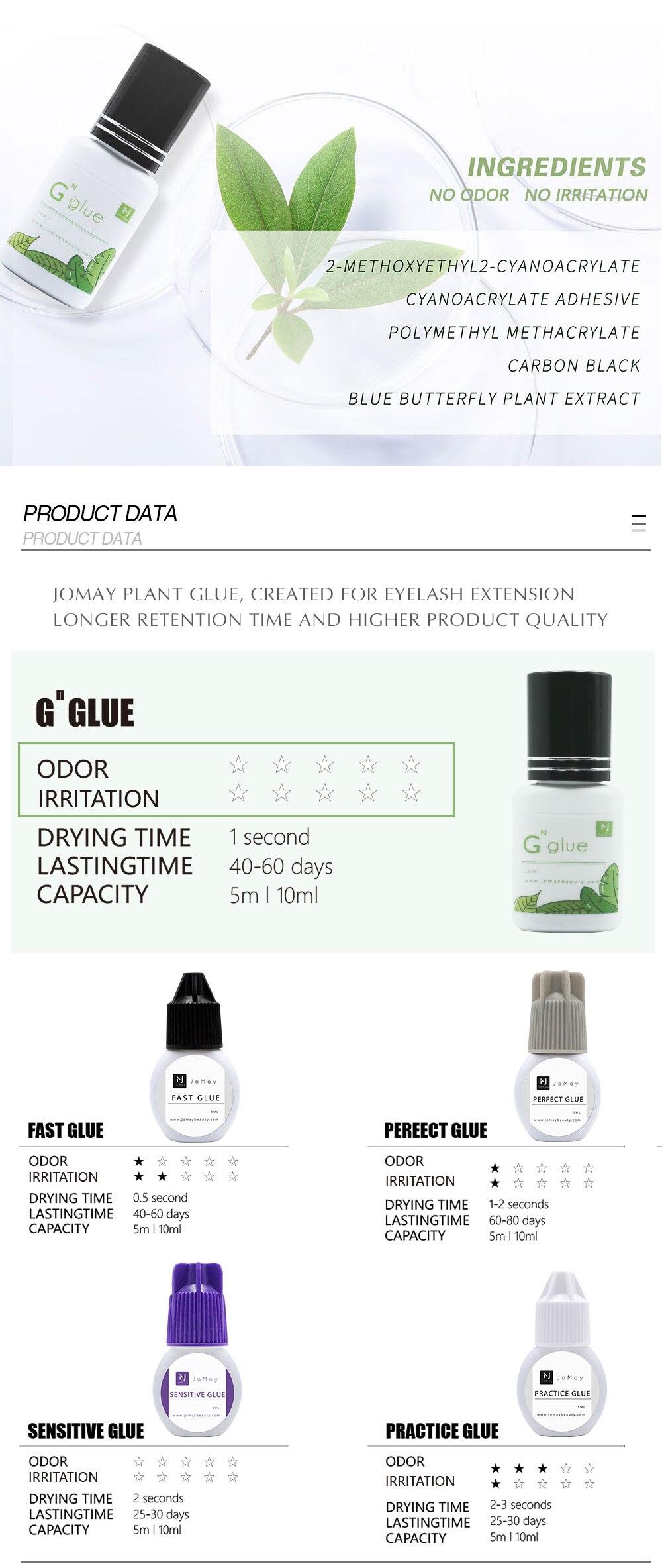 5ml cílios cola nenhum cheiro nenhuma planta