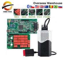 CDP TCS V3.0 NEC Реле tcs Bluetooth R1 keygen как Multidiag pro obd2 сканер автомобили Грузовики диагностический инструмент
