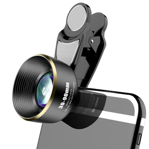Image 1 - 30 90mm Phone Camera Macro Lens 5K HD No Distortion Camera Lenses for iPhone Huawei Most Smartphones in Market Dropshipping