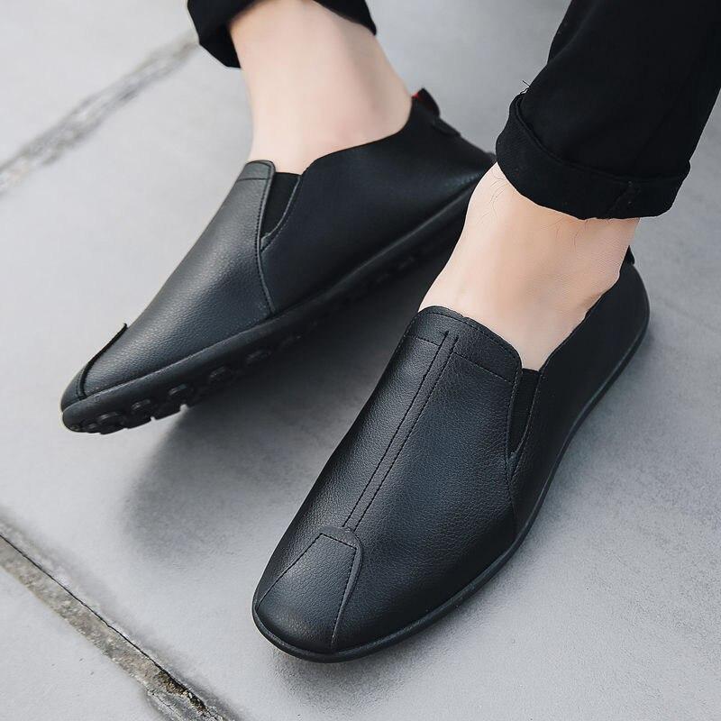 Удобная обувь Для мужчин s мягкая обувь без каблука, с тканым верхом, обувь для прогулок, высокое качество светильник дышащая обувь мужские