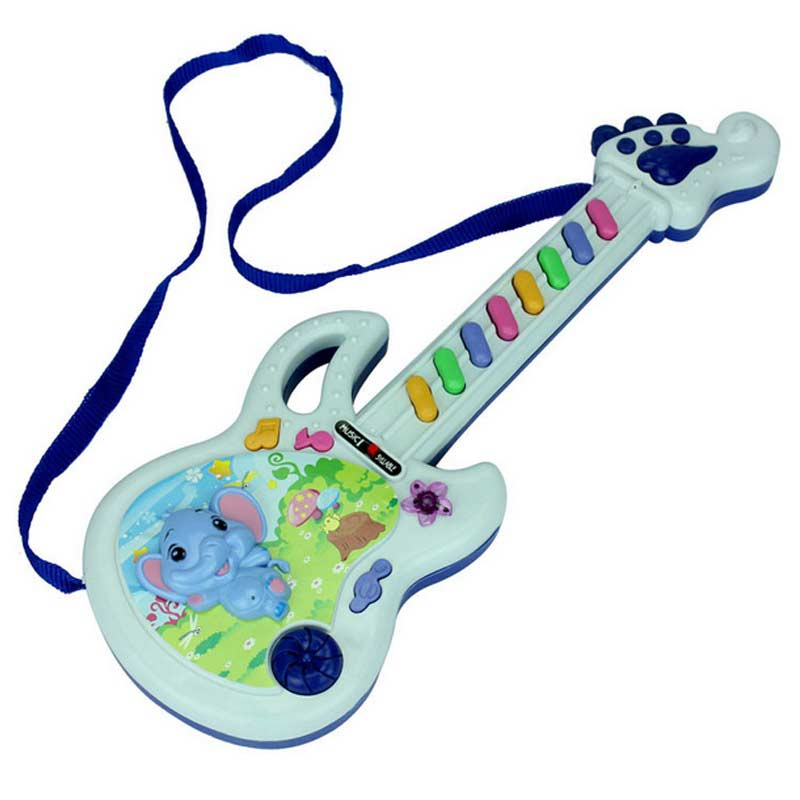 Hot Sale Musical Educational Toy Baby Kids Children Portable Guitar Keyboard Developmental Cute Toy