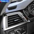 Консоль для стайлинга автомобиля, приборная панель, боковая рамка для выхода воздуха, декоративная накладка для BMW 3 серии F30 2013-17 LHD, модифици...