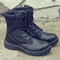 Новая выставка мужские Сталь безопасная обувь; Рабочая обувь дышащая подносок  стальная Антипрокольная стелька прочный рабочих защитный т...