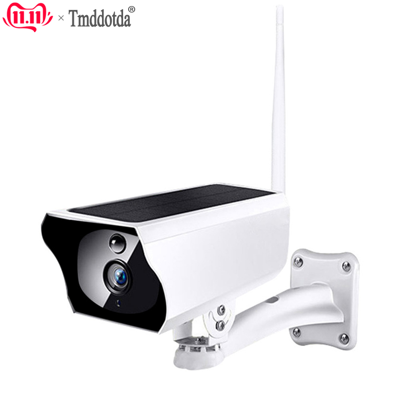 1080P Solar Camera HD Wireless IP67 WiFi Security Surveillance Solaire CCTV IP Camera 850nm Infrared 2.4G Night Cam No Battery