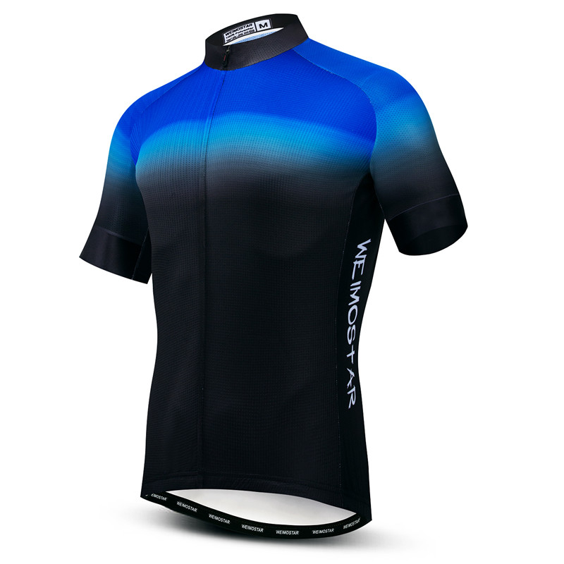 Bike Jersey Cycling-Shirt Racing Maillot Blue Weimostar MTB Summer Men Breathable